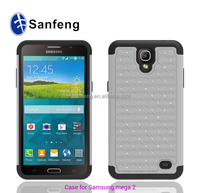Smart bling bling fashional mobile case for Samsung galaxy mega 2 750F 2015 new coming