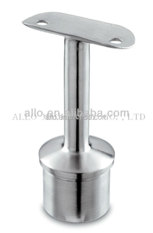 stainless handrail fitting saddle handicap handrails