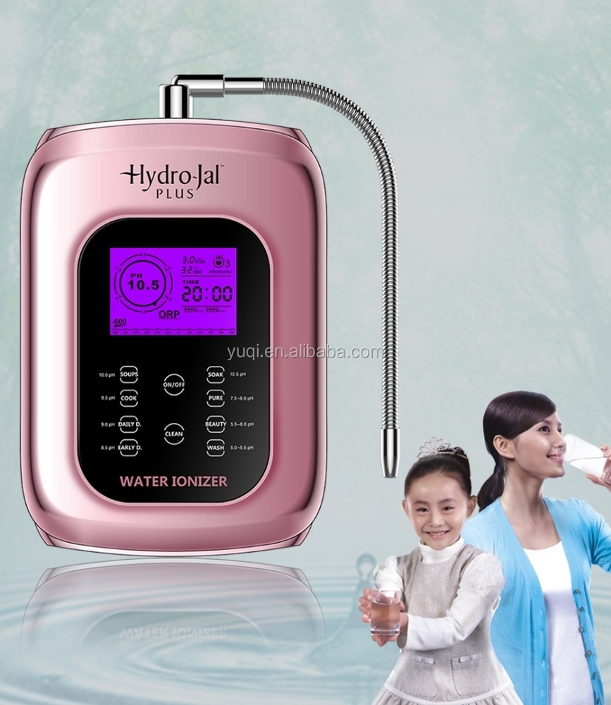 alkaline water purifier/alkaline water ionizer/machine/ Energy drinking alkaline water ionizer machine with ball valve