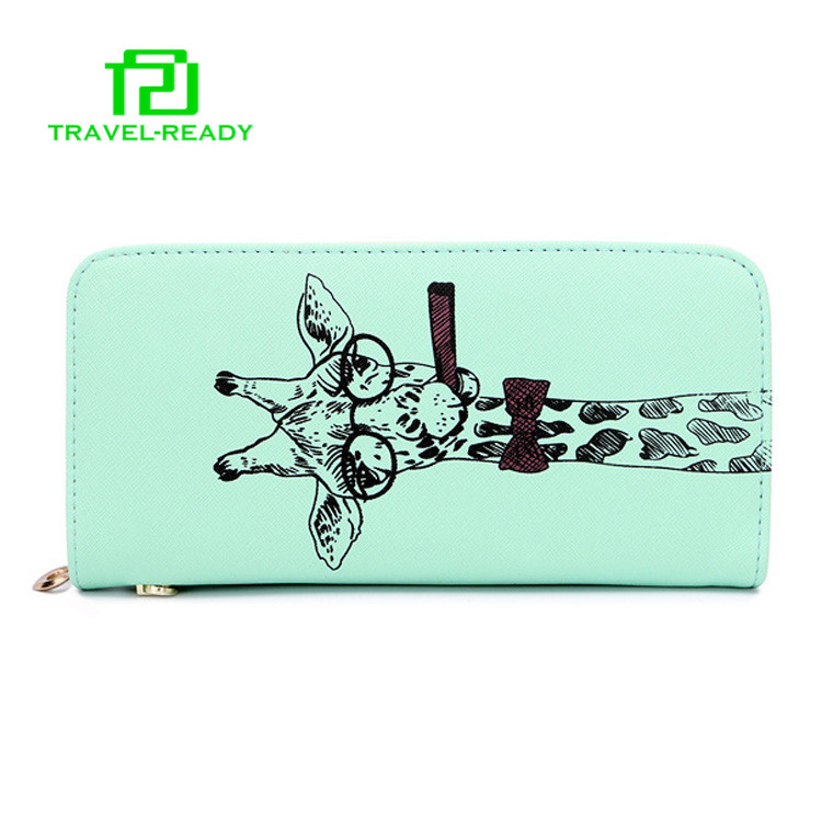 new model cheap desinger multi color ladies PU leather purses wallet in stock