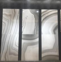 Foshan onion marble designs ceramic tiles for floor and wall,600x120mm