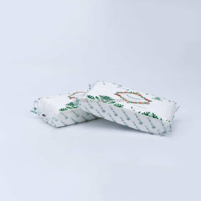 American standard cosmetic eco-friendly virgin scented facial tissue paper in pack