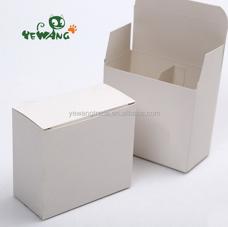 Green pollution-free printable white card color box