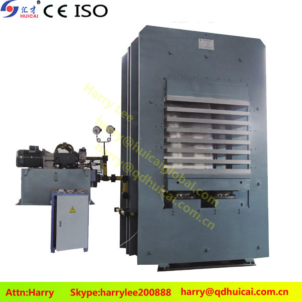 High Temperature Floor Mat Vulcanized Rubber Molding Press Machine/Auto Push-out Rubber Plate Curing with CE ISO9001 New Price