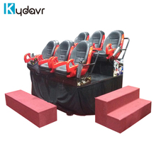 Electric / Pneumatic Motion Simulator 5D Cinema 5D 7D Theater System on sale