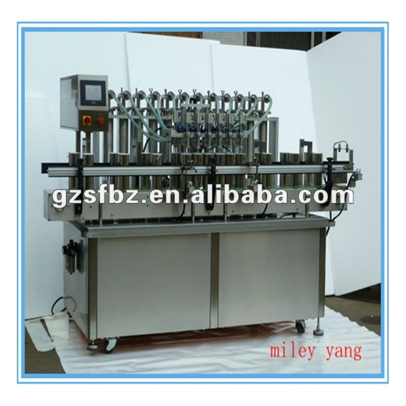 Tailor-made Advanced Man-Machine Control System Automatic Liquid Filling Machine(M)