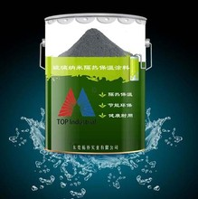 Nano thermal insulation coating for glass