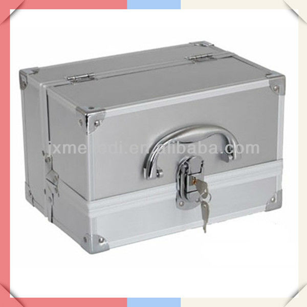 MLD-CC250 Aluminium Beauty Case For Cosmetics&Jewelries&Pills Heavy Duty