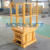 Good quality best price hydraulic scissor type lift small table for cargo