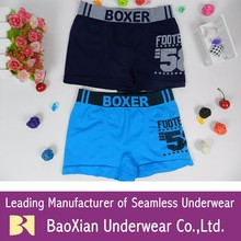 OEM kids boys seamless underwear boxer briefs elastic wholesale for Panama POLYESTER Children