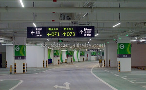Vehicle Detection sensor System-Indoor Parking Guidance System with ultrasonic detector