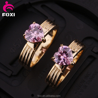 China jewelry wholesale engagement rings gold finger ring design for women