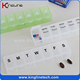 Factory supply high quality 7 days weekly pill box (KL-9017)