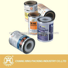 Gravure printing PET metallized plastic roll film/ metallic polyester pet film wrap