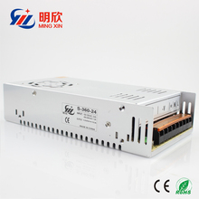350w 400W 24v led power supply 15a with CE rohs cerficates 24v AC DC led transformer