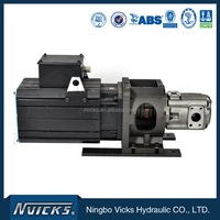 Eaton vickers electric hydraulic motor pump