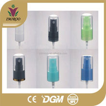 Color custom PP perfume sprayer with cap mini fine mist spray pump