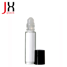 Cosmetic Packaging Tube No Minimums Refillable Roll-On Perfume Bottles Empty Clear Glass Roll On Bottles