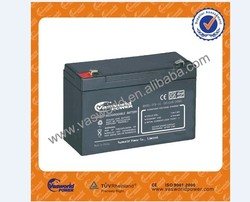 Maintenance free sealed lead acid battery 6V12Ah vrla battery for sale
