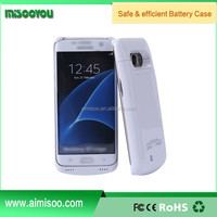 Factory Wholesale S7 edge Battery Case, Galaxy S7 Battery Case External Backup Battery Charger Case For Samsung Galaxy S7