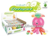 Funny wind up octopus candy toys(12PCS)