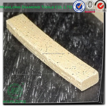 diamond segments for saw blade sharpening cutting tools for tile asphalt cutting