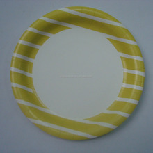 small disposable color printed pizza paper plate