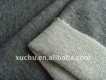 Cotton Spandex 95%Cotton 5%Spandex Plain Dyed French Terry Knitted Fabric