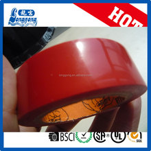 Red PVC Insulating Electrical Vinyl Tape moq 70000 pcs