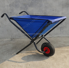 Garden Lightweight Folding Wheelbarrow WB0400