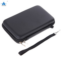Protective travel carrying case bag for nintendo new 3ds xl