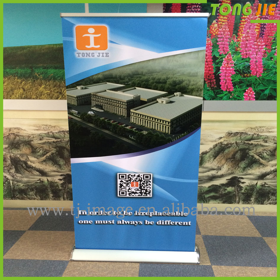 New Type Luxury advertising display 85 x 200cm roll up banner stand