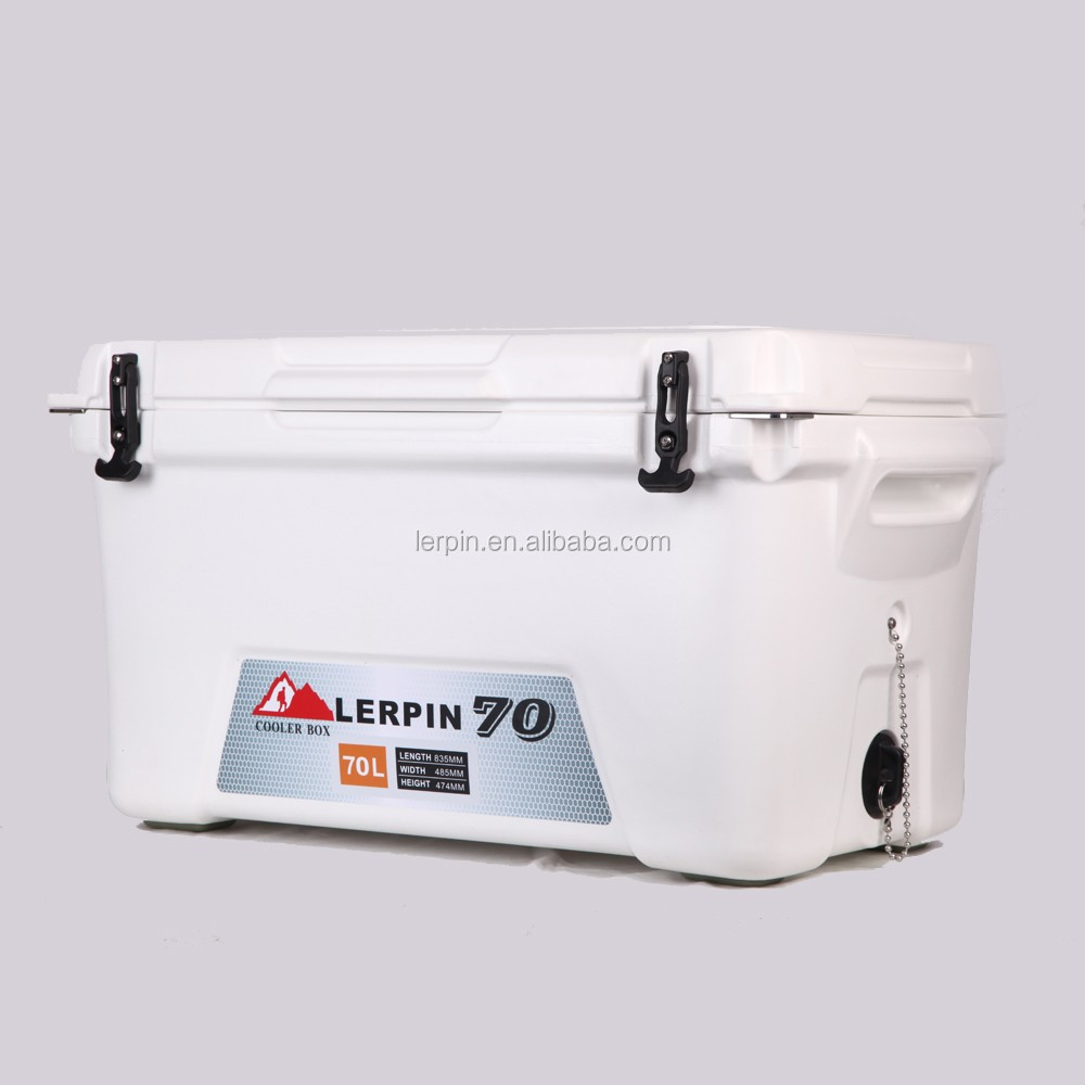 Eco-friendly large rotomolded fishing Cooler Box 70L