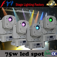 Professional electronical goods from China 75w mini moving head LED spot light FYI-S002