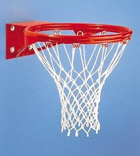 old factory basketball ring heavy duty hoop inground basketball