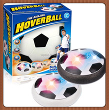 New Hot Funny Air Suspension Electric LED Flashing Hover Ball Soccer, Best Parent-Child Indoor Sports Fitness Toy Hover Football