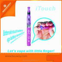 New coming E finger touch ego usb battery, colorful ego battery,wholesale ego automatic battery