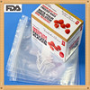 Heavy duty LDPE sandwich zipper lock bag in color box