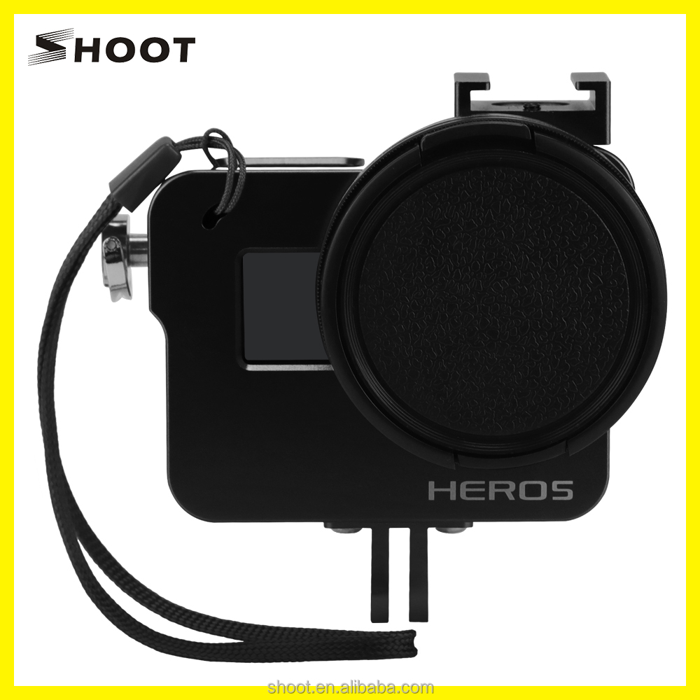Hot for gopros Heros 5 Camera Accessories Protective Frame Cases for Go Pro Heros 5 Accessories