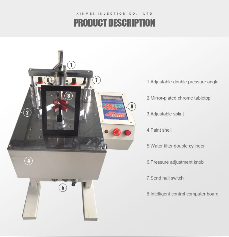 High Quality Wooden Photo Frame Nailing Machine