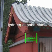 Chinese style round house roof