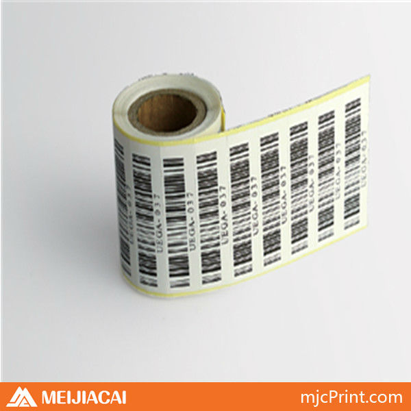 OEM Custom design fancy glossy self adhesive sticker barcode sticker label self-adhesive label from Shenzhen China