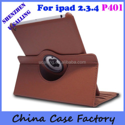 Stylish Cowboy Jean Leather Case For iPad 2 3 4 With Customized Service