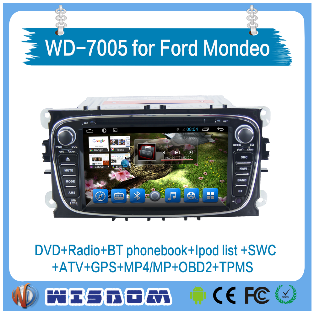 2016 Navigation for Ford Mondeo/Focus/S-Max 2008 2009 2010 2011android car dvd,car dvd player with gps navigation and bluetooth