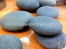 Natural flat pebble stone