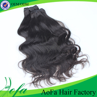 Full cuticle brazilian hair natural wave