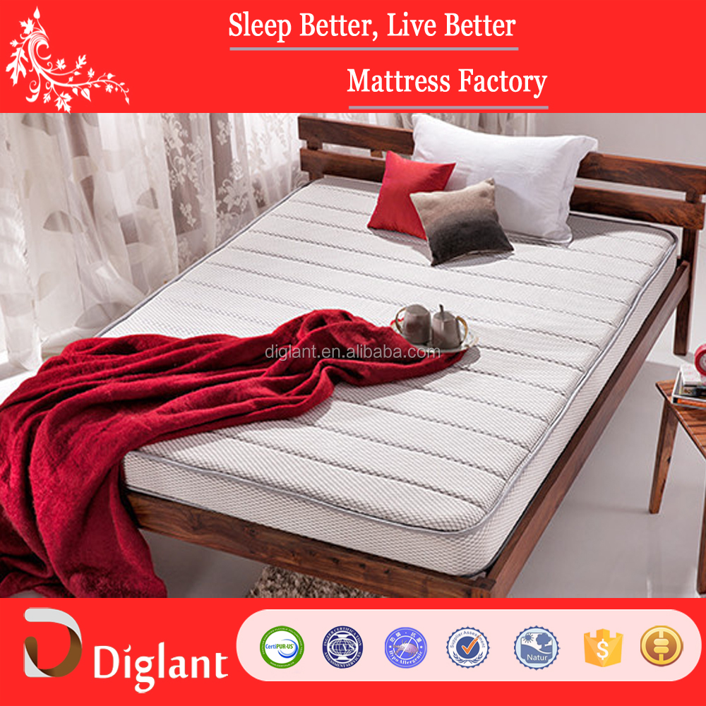 2017 new durable fabric colourful cover spring mattress for India