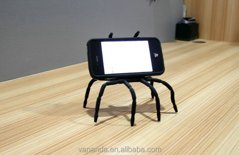 Creative Style Mobile Phone Holder Camera Flexible Mini Tripod Camera Flexible Spider Holder
