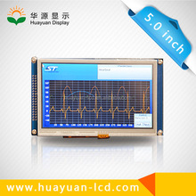 Factory wholesale 5.0 inch tft lcd touch screen,5.0 inch replacement lcd screen gps