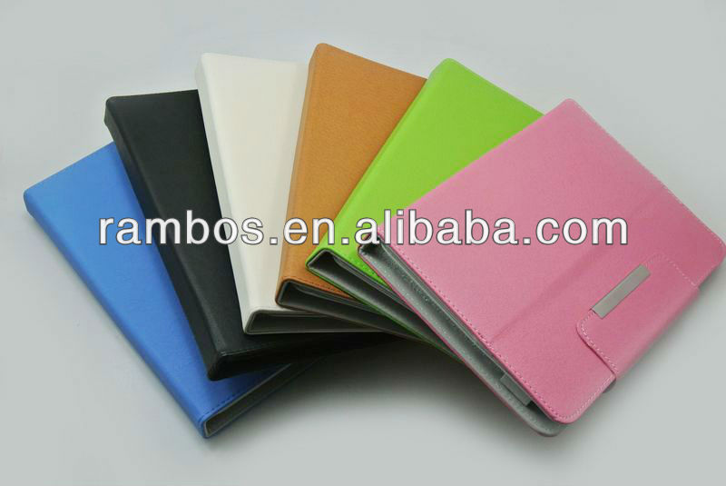 Belt Tablet PC Flip Leather Protective Back Cover case for 9 inch Tablet PC Case